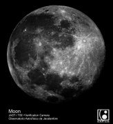 July 2014 - Moon image taken in the OAJ with JAST/T80 telescope and FLC80 verification camera
