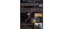 Summer student fellowships in Astrophysics and Instrumentation