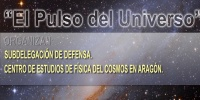 Partial view of the poster  'El Pulso del Universo'