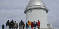 Visit to the Observatorio Astrofísico de Javalambre in a previous edition