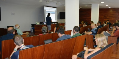 Image of one of the scientific meetings held at CEFCA